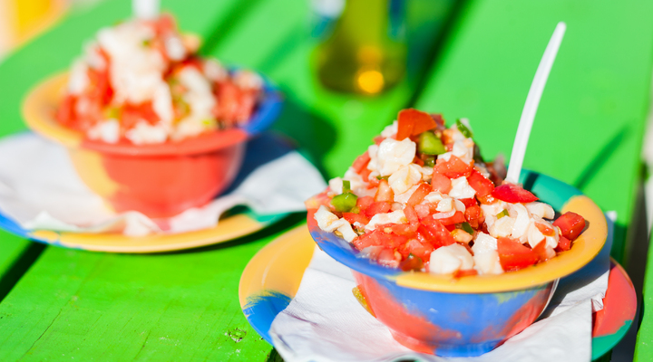 Bahamaanse Conch salade