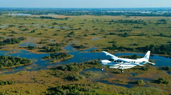 Airsafari in Botswana met Luxe Reizen Afrika
