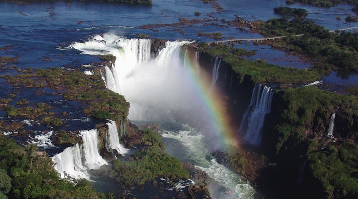 Foz de Iguacu in Brazilië