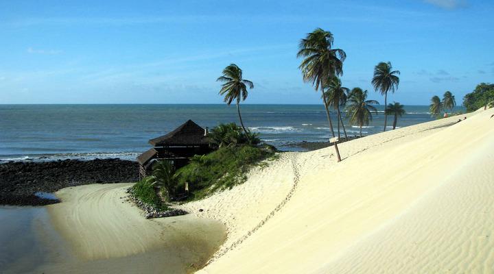 Het strand van Natal