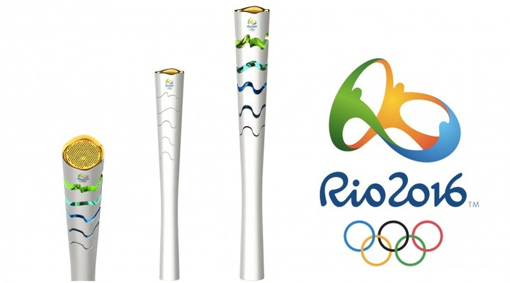 Olympic Torch 2016 © Rio 2016