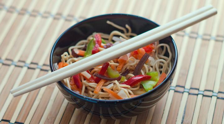 Typische Chinese maaltijd