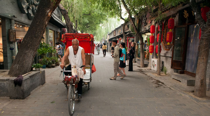 Riksjatocht door de hutongs van Beijing