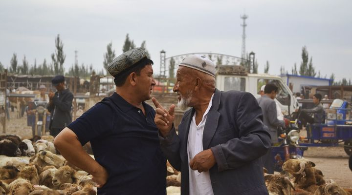 Zondagsmarkt Kashgar