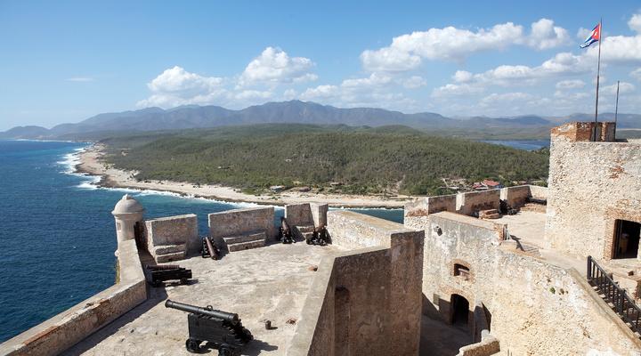 Prachtig uitzicht op Cuba