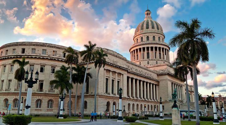 De hoofdstad Havana