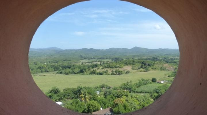 Uitzicht landschap