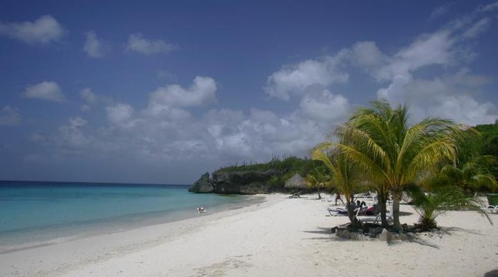 Prachtige strand van Curaçao