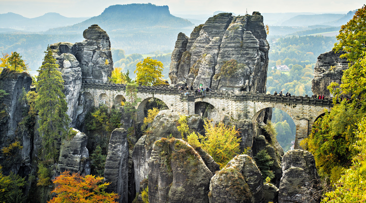 Saxon Switzerland National Park Saksen  2018 Alles wat