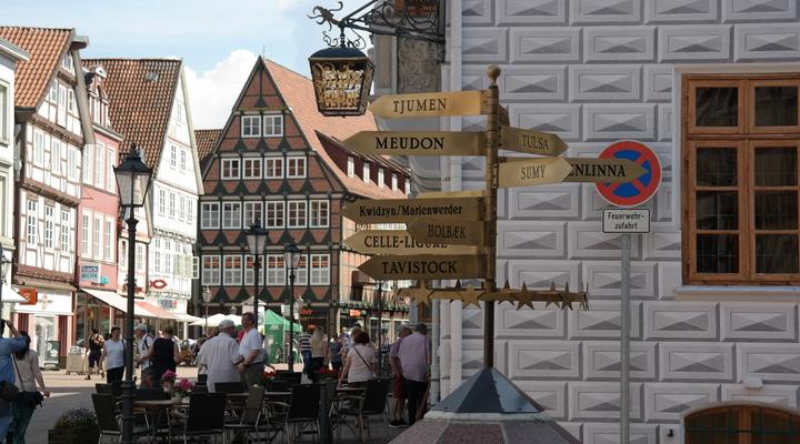 Het centrum van Celle