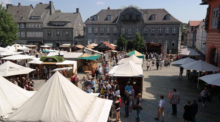 De markt in Goslar