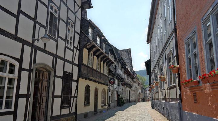 Een van de straatjes in Goslar
