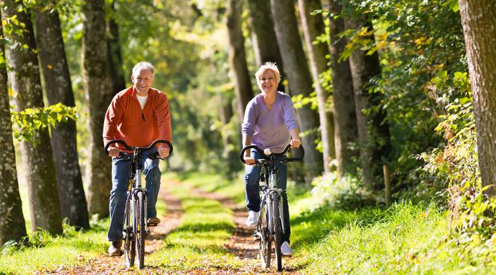 Eifel is een prachtige regio om door te fietsen
