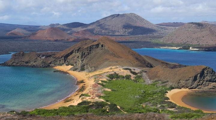 Landschap Galapagos Eilanden