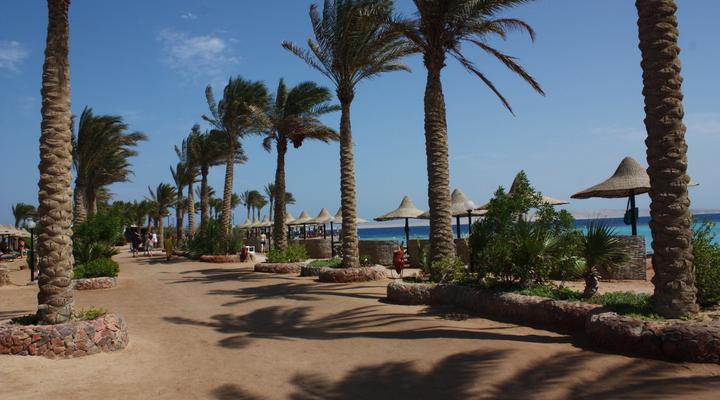 Boulevard in Hurghada