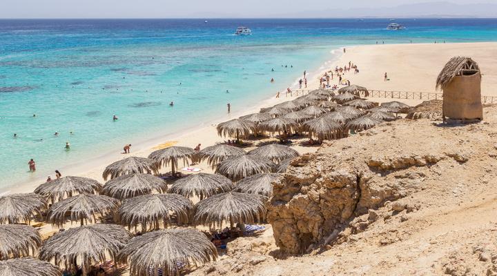 Giftun Island bij Hurghada