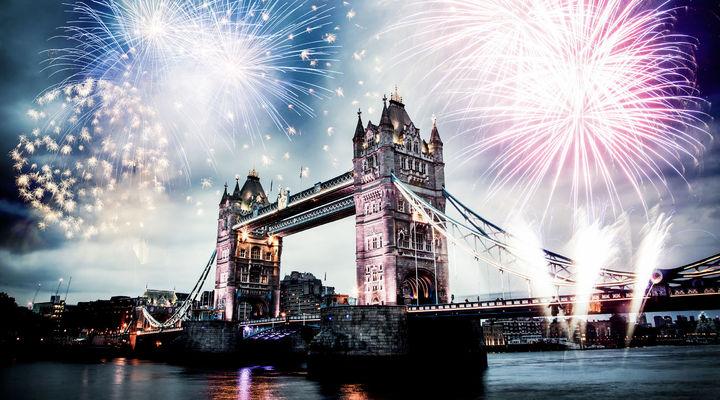 Oud en nieuw in Londen
