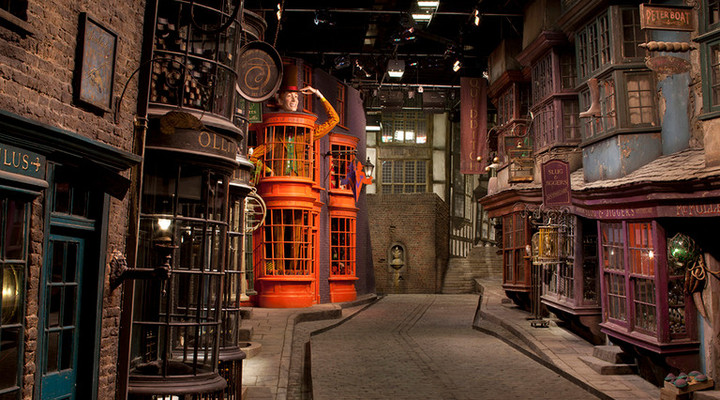 Harry Potter studio's in Londen
