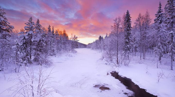 Landschap Fins Lapland