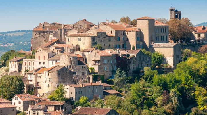 Cordes-sur-Ciel in Frankrijk