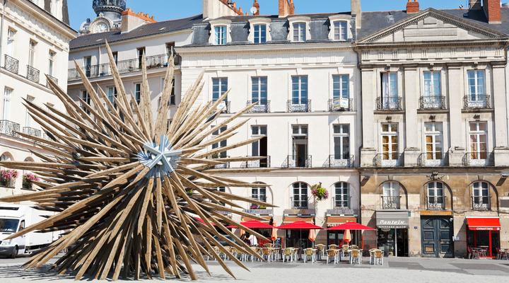 Moderne kunst in Nantes