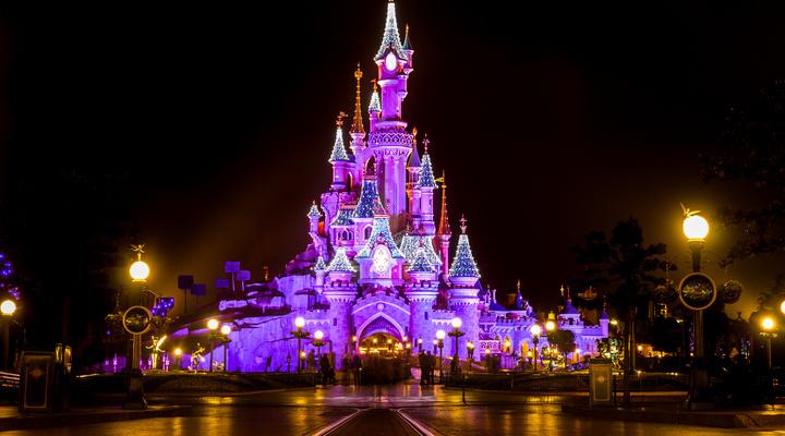 Kasteel van Doornroosje in Disneyland Parijs