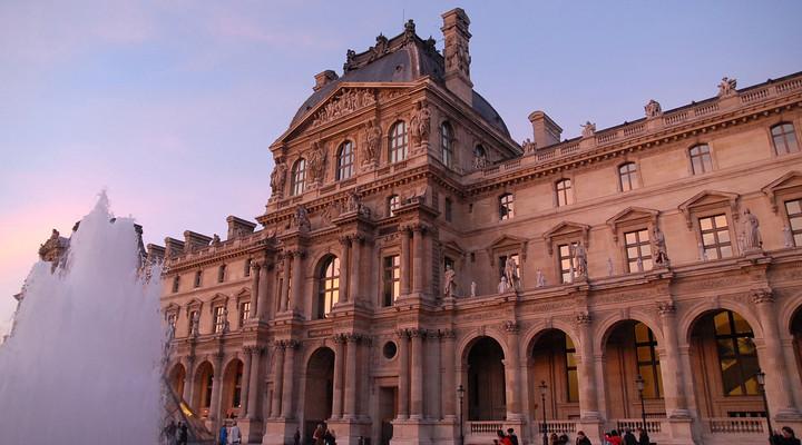Het Louvre in Parijs