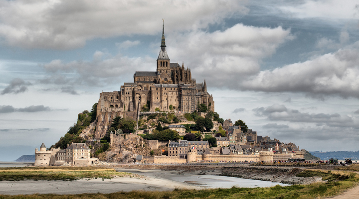 Mont Saint-Michel, Normandië