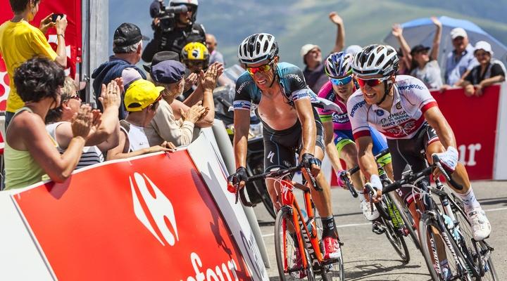 De finish van de Tour de France beleven