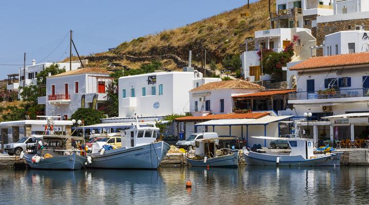 Mérichas op het eiland Kythnos