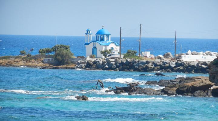 Prachtig plaatje op het eiland Ikaria