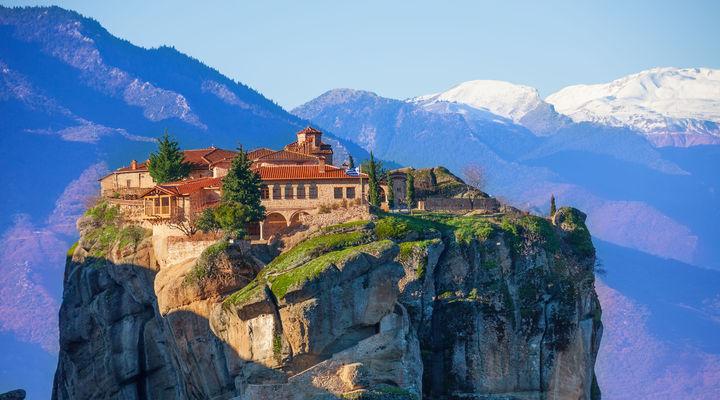 De Meteora kloosters