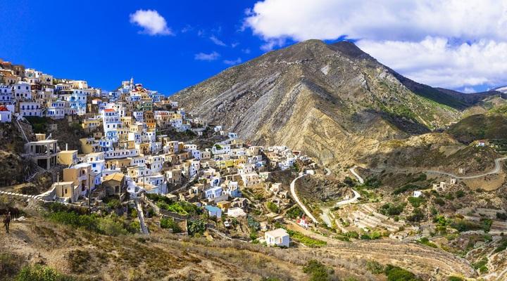 Het Griekse eiland Karpathos