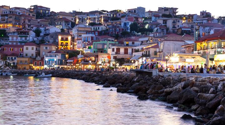Parga, Griekenland