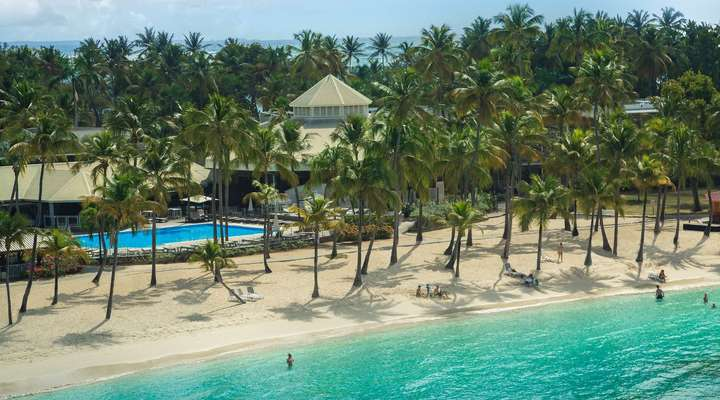Strand van Club Med La Caravelle