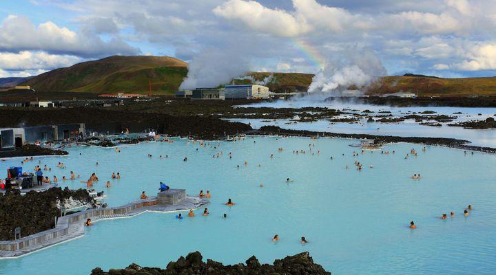 Een Blue Lagoon in Ijsland