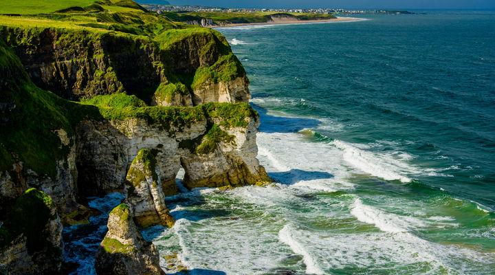 Rotswanden Noord-Ierland