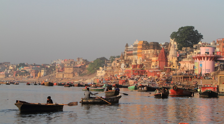 Varanasi in Noord-India