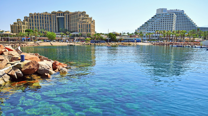 Direct naar winterzonbestemming Eilat met Isropa