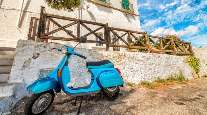 Vespatour in Puglia