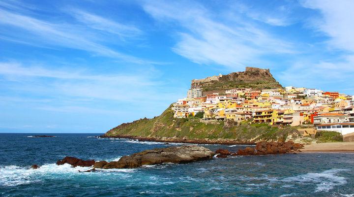 Castelsardo op Sardinië