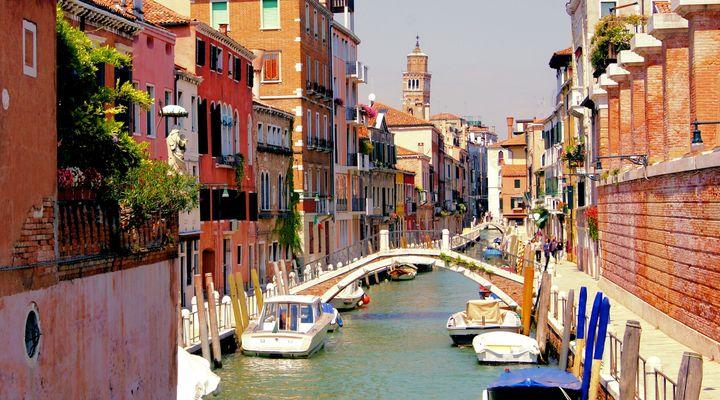 Venetië, een van de bestemmingen van Bolderman