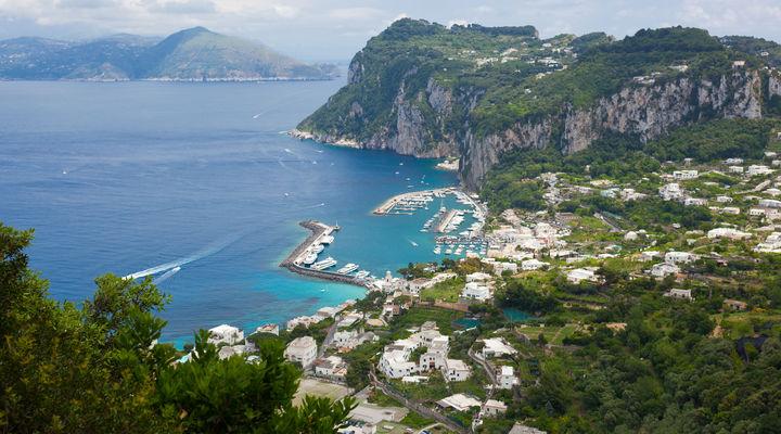 Eiland Capri, Campania, Italië
