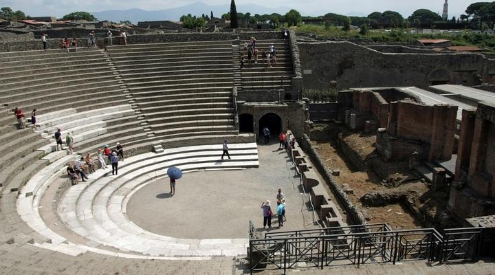 Pompeï Teatro Grande