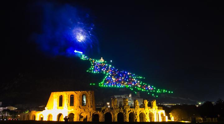De grootste kerstboom ter wereld