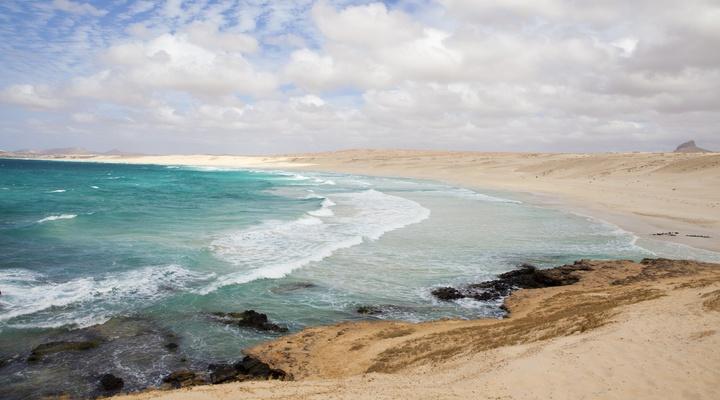 Het Kaapverdische eiland Boa Vista