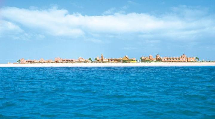 RIU Funana ligt direct aan het strand