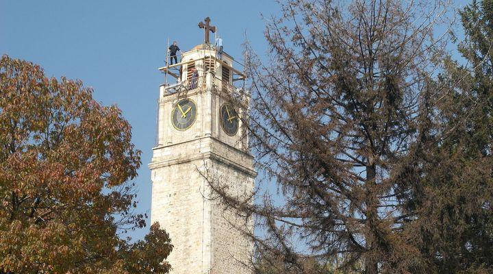 De klokkentoren van Bitola