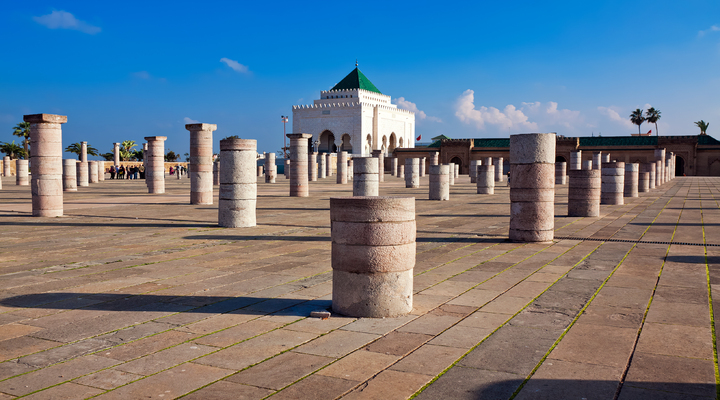 mausoleum van Mohammed V, Rabat, Marokko