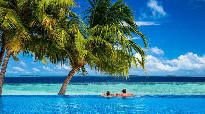 De kustlijn van Mauritius is wel 330 kilometer